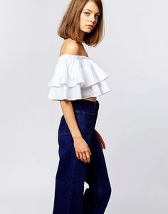 The Lost Ink Off Shoulder Double Ruffle Top is what summer dreams are made of - get even more style and shopping inspiration on http://jojotastic.com/shop-my-favorites/