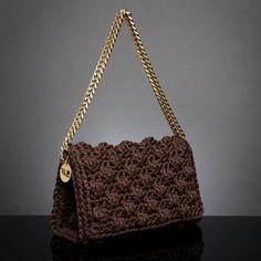 Chic & Unique by V&R Crochet Bags, Knit Crochet, Popcorn Stitch, Light Beige, Purses And Bags, Vans, Shoulder Bag, Knitting, Chic