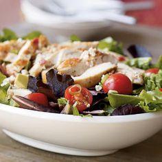 Superfast Chicken Recipes | Chicken Cobb Salad | CookingLight.com