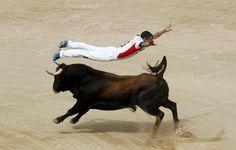 Flying Bullfighter