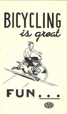 Bicycle safety pamphlet, circa 1940s by Seattle Municipal Archives, via Flickr