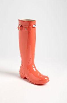 Hunter 'Original Tall' Gloss Rain Boot (Women) | Nordstrom