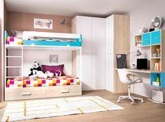 Dormitorio CAMPUS Q - Dormitorios infantiles | Muebles La Fabrica
