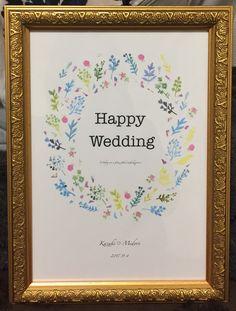 ウエディングボード #happywedding#wedding#ウエディングボード