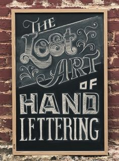The Lost Art of Hand Lettering on the Behance Network — Designspiration