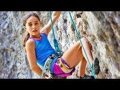 """""""11-Year-Old Brooke Raboutou Shatters Climbing Records"""" 