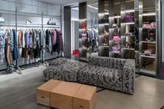 Vivienne Westwood opened its second New York City store in a townhouse in Midtown Manhattan. The store's second and third floors house showrooms and offices.