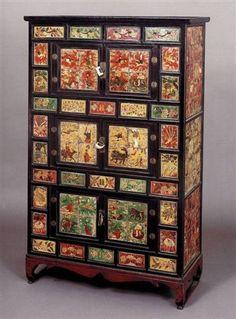 amazoncom oriental furniture korean antique style liquor