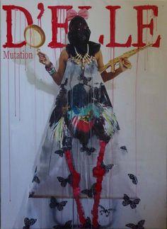 A fake cover magazine promoting recruitment of a sexual jihadist http://www.celesteprize.com/artwork/ido:341163/ #painting #contemporaryart