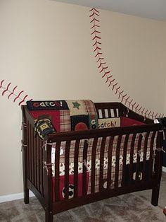 Simply Mom Play Ball Baseball Themed Nursery Or Kids Room