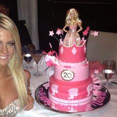 Barbie Princess Castle Cake My Cakes Pinterest Prinsessor - Birthday cake doll princess