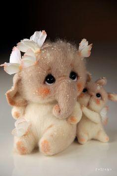 Top 20 cute looking baby animals Baby Animals Super Cute, Cute Stuffed Animals, Cute Little Animals, Cute Funny Animals, Baby Animals Pictures, Cute Animal Pictures, Needle Felted Animals, Felt Animals, Crochet Animals