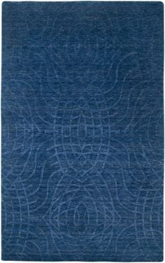 Buy the Rizzy Home Indigo Blue 10 x 14 Direct. Shop for the Rizzy Home Indigo Blue 10 x 14 Uptown Hand Loomed New Zealand Wool Rug and save. Wool Area Rugs, Blue Area Rugs, Blue Rugs, Wool Rugs, Solid Rugs, Southwest Decor, Area Rug Sizes, Transitional Rugs, Contemporary Area Rugs