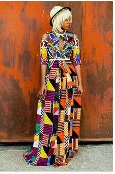 Like African prints but unsure how to wear or mix them? This print mixing manual will teach you how to wear and combine prints in 4 easy steps. African Fashion Designers, African Inspired Fashion, African Print Fashion, Africa Fashion, Fashion Prints, African Prints, Fashion Styles, Ankara Fashion, Women's Fashion
