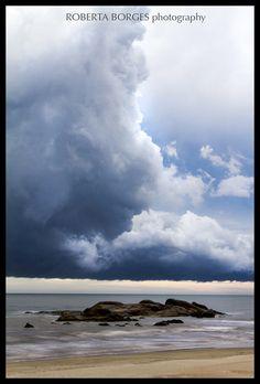 Storm Barrinha/SC Beach,Sea,waves