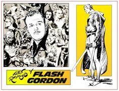 CÓMIC, historietas, tebeos…: ALEX RAYMOND-1. FLASH GORDON Y ALEX RAYMOND