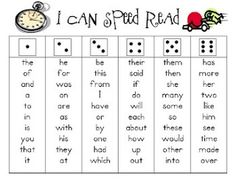 Building Sight Word Fluency {Compatible With First Grade