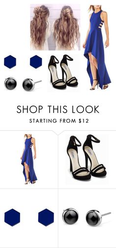 """""""Untitled #11495"""" by iamdreamchaser ❤ liked on Polyvore featuring BCBGMAXAZRIA, Nly Shoes and Wolf & Moon"""