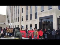 500+Protectors at ND, Capital in Bismarck 11/14/16 - YouTube