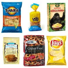 List of Low FODMAP Brand Name Foods that are ready to eat right out of the package!