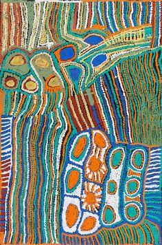 WEAVER JACK (CIRCA 1928-2010) Langarang (2006) - Moss Green  Auction