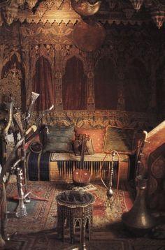Bohemian / Lifestyle / Interior / Home / Decor / Vintage / Moroccan / Turkish / Gypsy / Inspiration