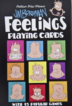 Standard Playing Card Decks - Feelings Playing Cards by Jim Borgman Pulitzer Prize Winner *** Check out the image by visiting the link.