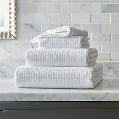 Create A Dimensional Design On Both Sides Of Each Towel Or Washcloth