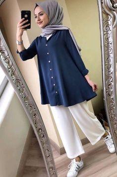 New Hijab Fashion for Muslim Woman's Modern Hijab Fashion, Street Hijab Fashion, Hijab Fashion Inspiration, Muslim Fashion, Modest Fashion, Fashion Trends, Pakistani Dresses Casual, Casual Hijab Outfit, Hijab Chic