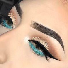 5 Make-up-Tipps von Pro Makeup Artist - schminken Makeup Eye Looks, Eye Makeup Art, Cute Makeup, Glam Makeup, Makeup Inspo, Eyeshadow Makeup, Beauty Makeup, Huda Beauty, Eyeshadows