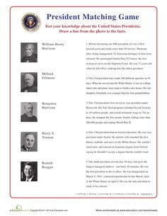 Printables Roles Of The President Worksheet presidential name scramble worksheets presidents and names u s matching game vi