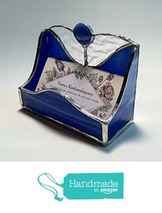 A stained glass business card holder is perfect for a classy a stained glass business card holder is perfect for a classy fathers day gift would look amazing on his desk at the offi unique fathers day gifts colourmoves