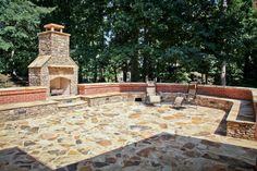 Awesome Outdoor Living Space Designed and Constructed by Highlight Homes; Image Credit: Never the Rock Photography