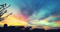 Morning any collor.. #morning #sky #wishyouwerehere #collor #warnawarni #Indonesia #jakarta #pagi #smile #bodoamat