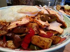 Slimming World Delights: Cajun Salmon Hash