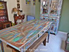 Pátina colorida em móveis de madeira   Flickr – Compartilhamento de fotos!