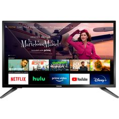Toshiba 32LF221U21 32-Inch Smart LED HDTV Fire TV Edition $129.99 (28% off) @ Best Buy + Ships Free 1080 X 720, Free To Air, Watch Live Tv, Electronic Deals, Thing 1, 4k Uhd, Prime Video