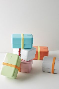 pretty pastel snack holders from Anthro
