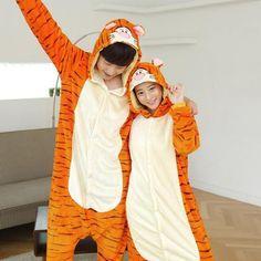 Onesie Adult Flannel Pajamas mujer Adults Cartoon Cute Animal Onesies Pyjama Sets Sleepwear for women B2CA165