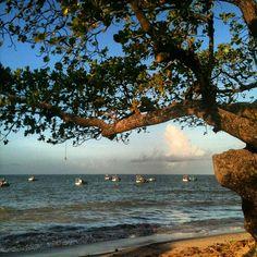 A Praia de Manaíra, em João Pessoa (PB)