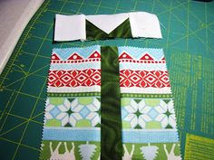 Loose Threads: Charming Christmas Present Quilt  tutorial