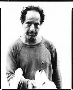 Richard Avedon, Photographer Robert Frank, 1975.