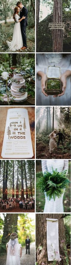Create magical memories with beautiful enchanted forest wedding ideas for your big day.