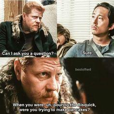 One of my favorite parts!! R.I.P #Abraham #Glenn