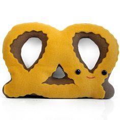 Super fun pretzel pillow (Etsy)