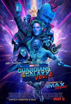 Les Gardiens de la Galaxie Vol. 2 - Poster Imax