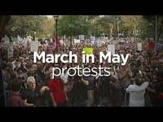 March in May: Thousands gather to protest budget WE MUST DEMAND A DOUBLE DISSOLUTION AND THEN VOTE OUT THE ABBOTT GOVERNMENT NEVER , EVER TO RETURN