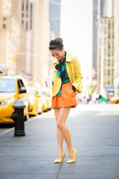 Morning Coffee Run :: Tweed jacket & Watermark plaid : Wendy's Lookbook