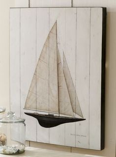 .Cottage Sail Art