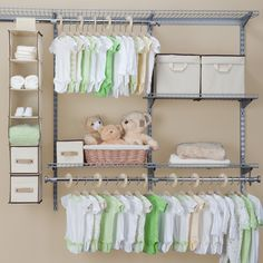 Delta Children Nursery Closet Storage Set & Reviews | Wayfair